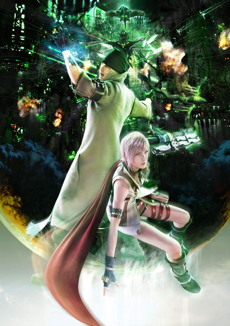 You Can't Watch The New FFXIII Trailer Yet, Let Me Describe It