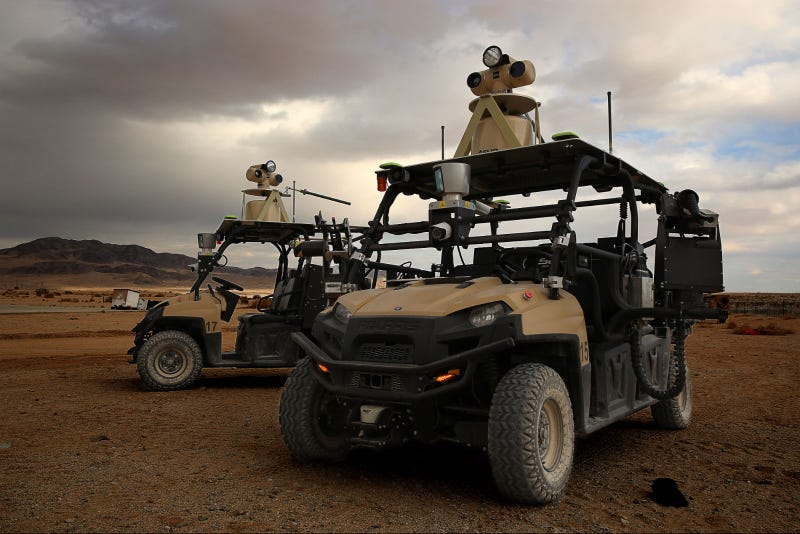 These Autonomous Patrol Cars Keep Watch Over Our Nuclear Stockpiles