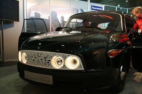 LA Auto Show: A French Tatra called Faurecia