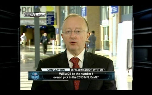 Deadspin I-Team: Is This John Clayton's Ponytail?