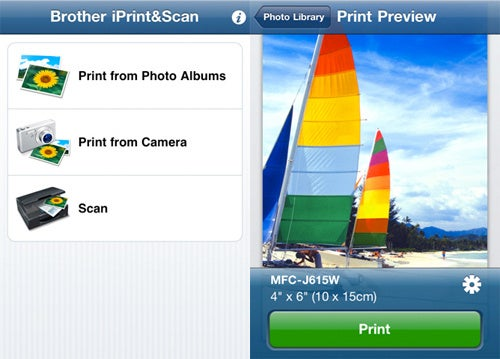 Print Photos From an iPhone to Brother Printer
