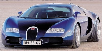 Rent a Bug: Get a Veyron, Some Money Down