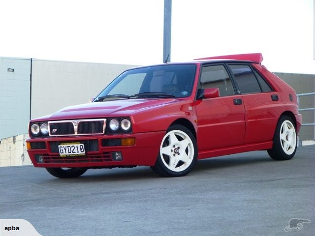 Spotted on Trade Me: 1992 Lancia Delta Integrale
