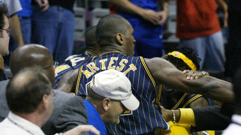 The Pacers-Pistons Brawl Was 20 Times Worse In Person Than It Was On TV