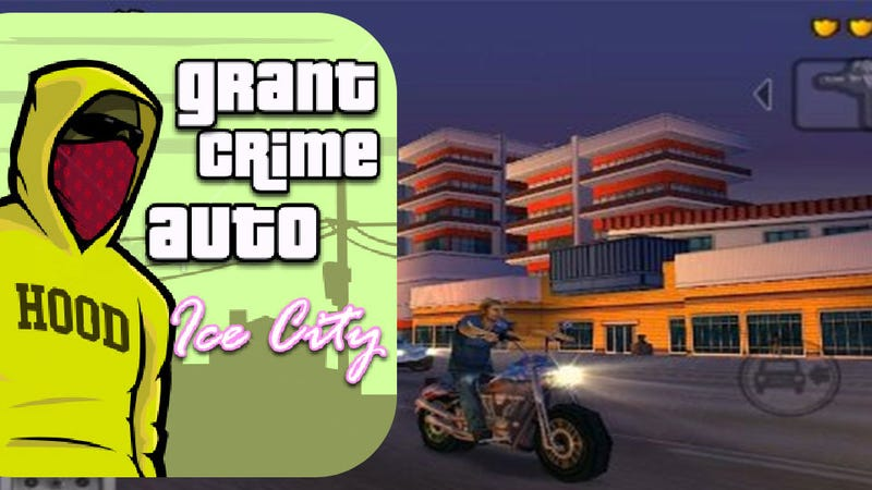 Grant Crime Auto: Ice City Now Available on the Amazon App Store. Wait, What?