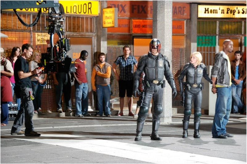 New Dredd Set Pictures!