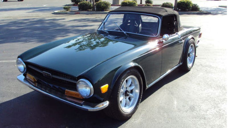 This Skyline-Powered Triumph TR6 Is Anglo-Japanese Lunacy