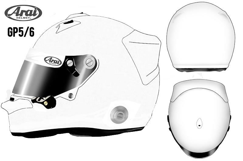 Design Your Own Race Car Helmet