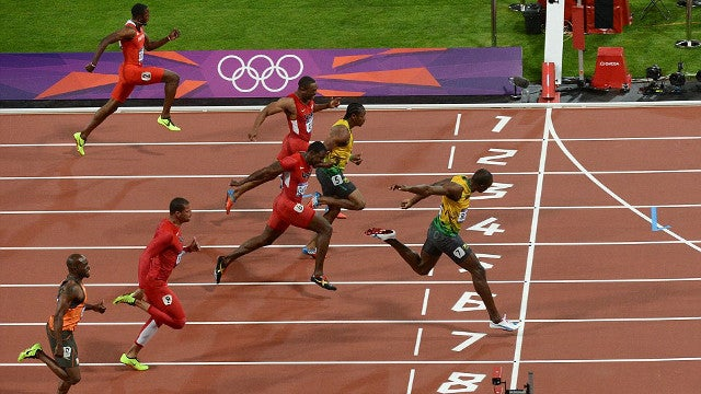 The Physics of Usain Bolt's World Record 100-meter Dash