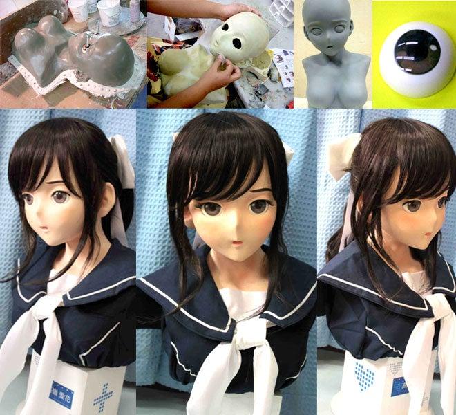 Life-Sized Schoolgirl Character Bust