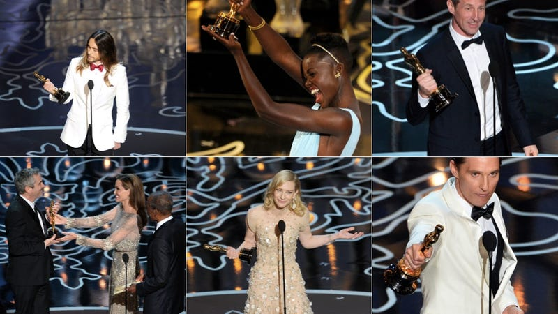Here Are All Your 2014 Oscar Winners