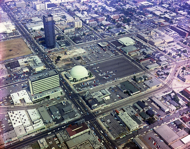 Hollywood From the Air: 1965 vs. 2014