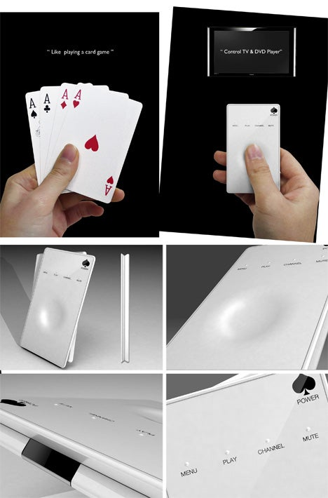 A Playing Card Concept Remote