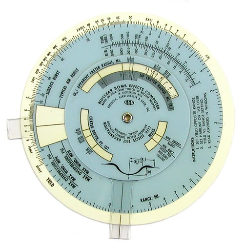 Nuclear Slide Rules: The Old Fashioned Way To Calculate Armageddon