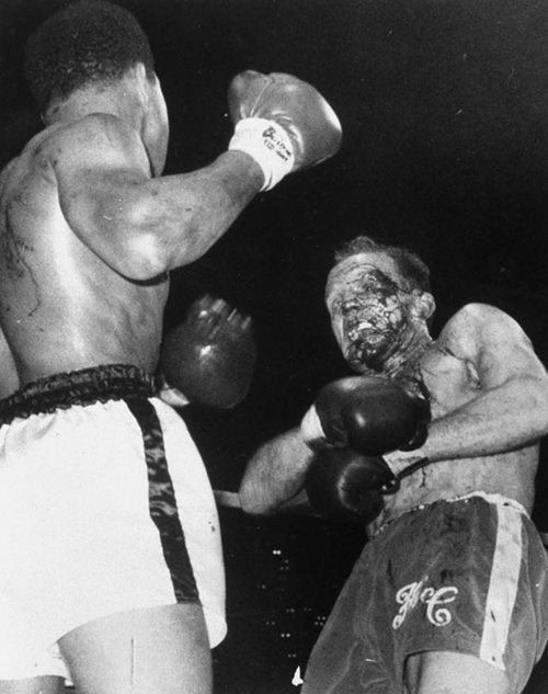 Private Stache: Cassius Clay Has Blood On His Hands