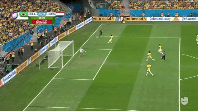 Netherlands Take Early 2-0 Lead Over Brazil