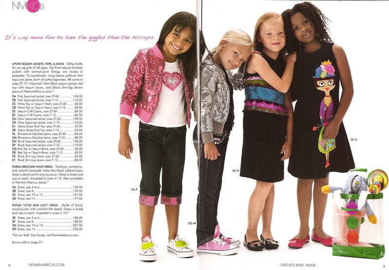 """Neiman Marcus """"Just Kidding"""": Costly Couture For Gossip Girls In Training"""