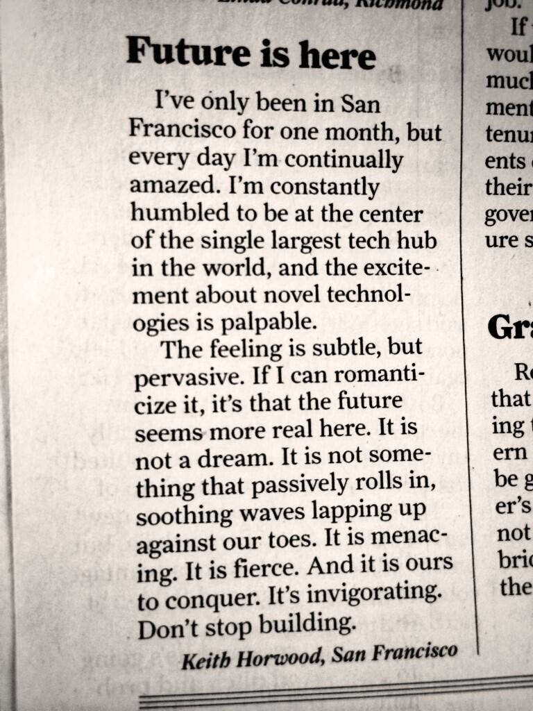 Techie Poet Is Continually Amazed By San Francisco
