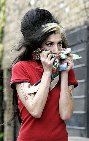 Amy Winehouse Loves Herbal Refreshments