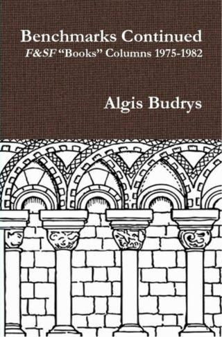There is no snarking about books like Algis Budrys snarking about books