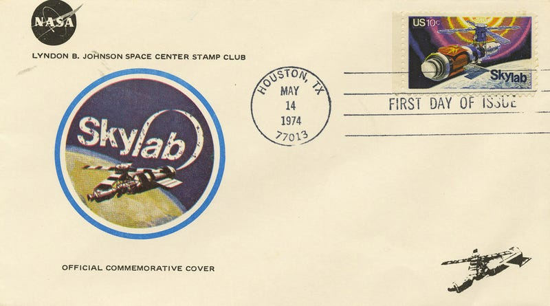 These Stamps Hail The Skylab Missions In 13 Awesome Ways