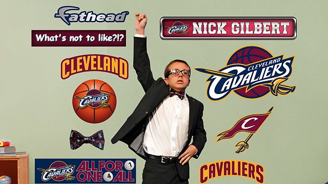 Anyone Want A Life-Size Wall Decal Of Dan Gilbert's Bowtied Son?