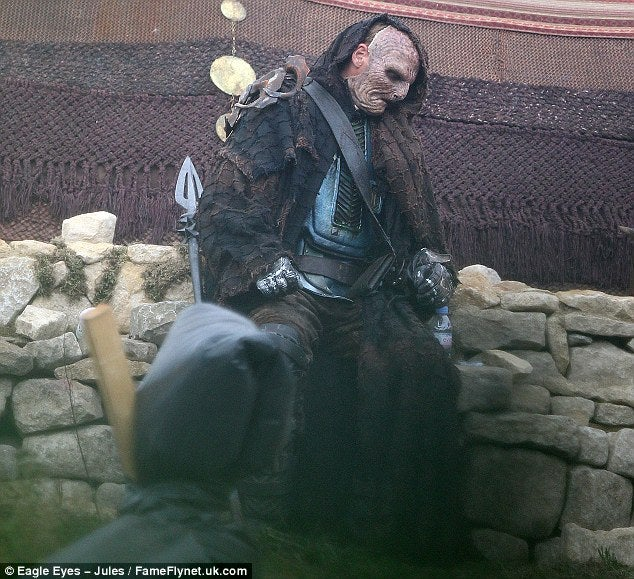 These photos from the set of Thor 2 may show the faces of the Dark Elves!