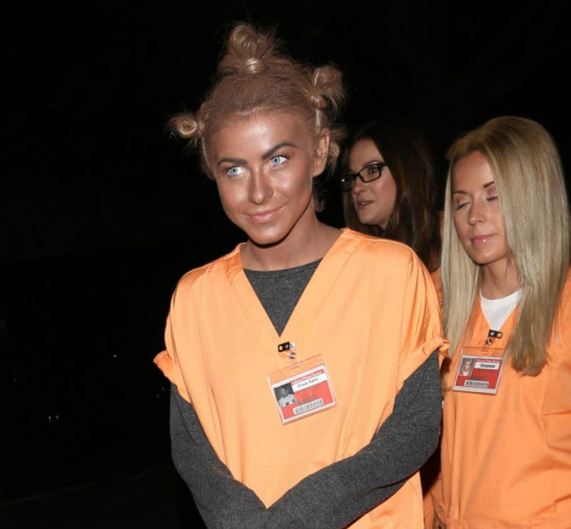 Actress Julianne Hough Makes a Very Bad Halloween Costume Decision