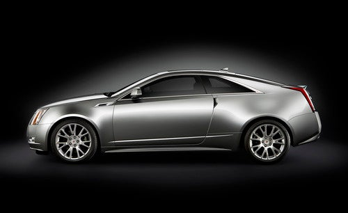 2011 Cadillac CTS Coupe: Press Photos