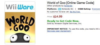 Amazon Now Selling WiiWare Games, Too