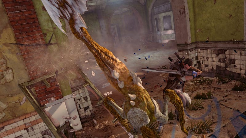 Limbs Are Optional in New NeverDead Screens