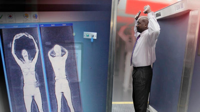 The EU has banned X-ray body scanners in airports — for medical reasons