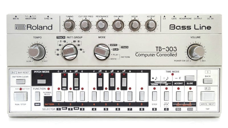 Roland TB-303 Sushi Platter: If You Think Our Beats Are Fresh, Try the Maki