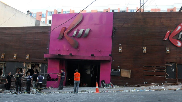 Three Arrested in Connection with Brazil Nightclub Fire