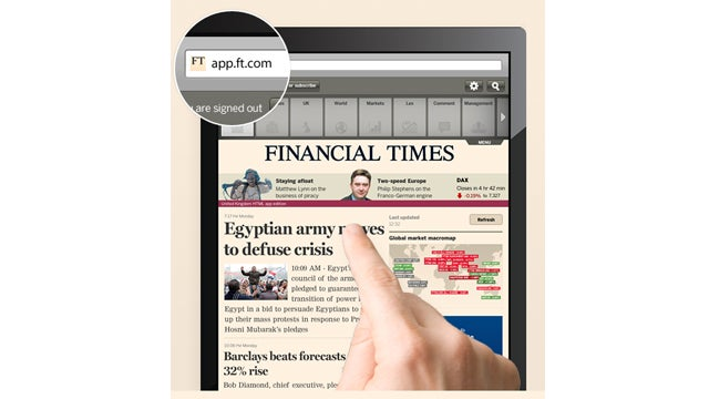 The Financial Times Just Became the First Newspaper to Take on Apple