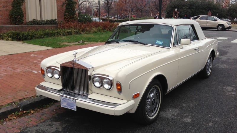 There's Nothing Corny About This Fancy Droptop Rolls-Royce Corniche