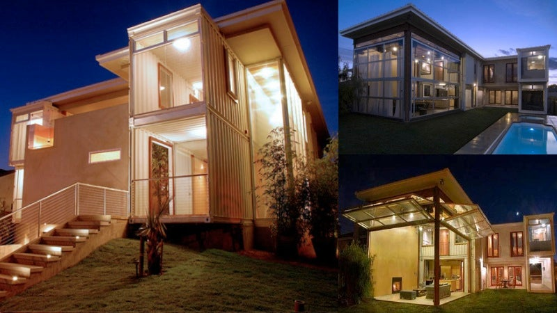 The Greatest Homes Made From Shipping Containers Around