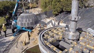 It took half a million bricks to build Legoland's new Death Star