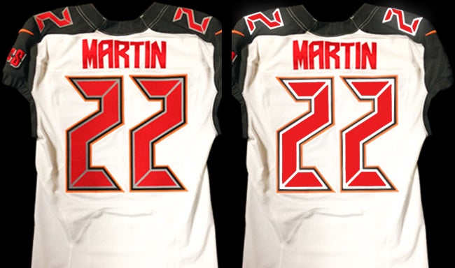 Buccaneers Will Debut Reflective Jersey Numbers Tomorrow