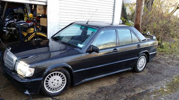 You know you want it. 1989 Mb 190 Cosworth
