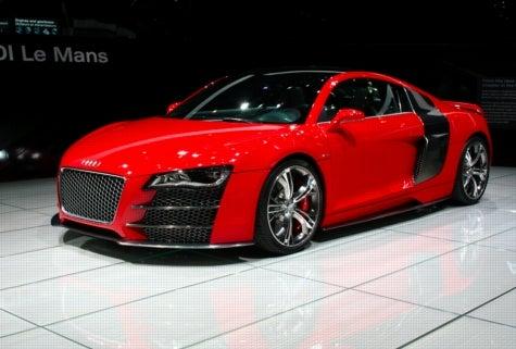 Audi V12 TDI Le Mans Live at the Geneva Motor Show