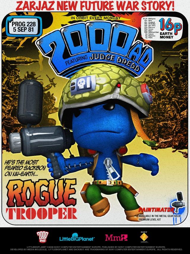 LittleBigPlanet Goes Mad For Judge Dredd, 2000AD