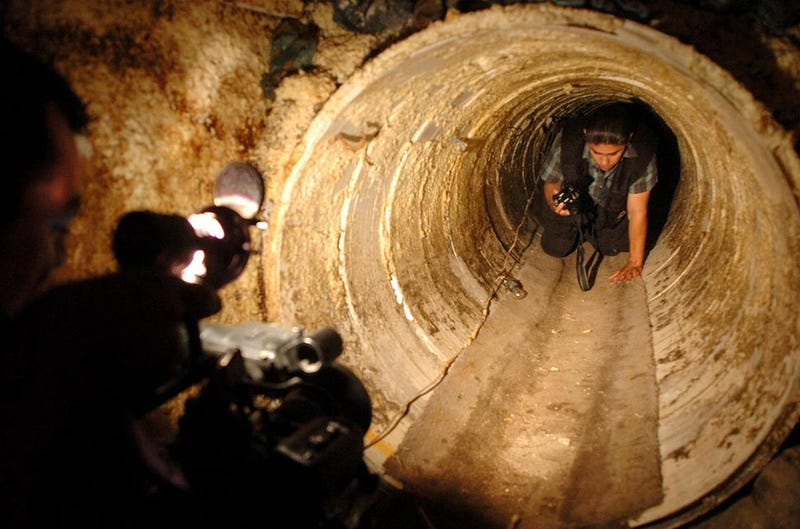 The U.S./Mexico Border Is Infested With Underground Machines