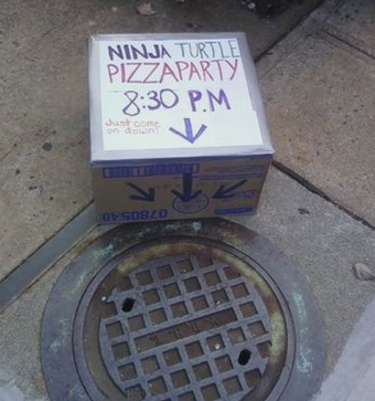 The sad reality of a Ninja Turtle pizza party