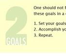 TwoGoals Hones Your Focus on Important Goals