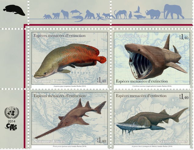 The UN Has Its Own Postal Service And You Can Buy Its Awesome Stamps