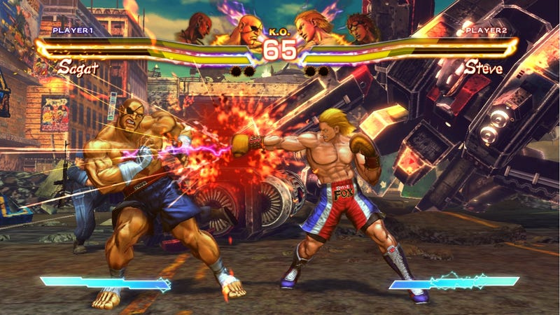 Capcom Built Four-Way Multiplayer into Street Fighter X Tekken's PS3 Version, Then Gave Up on the 360