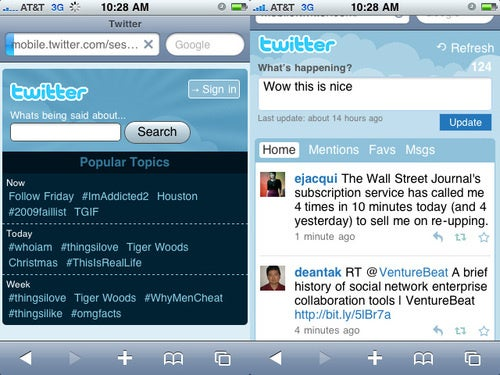 The New Mobile Twitter Site Is Actually, Um, Nice