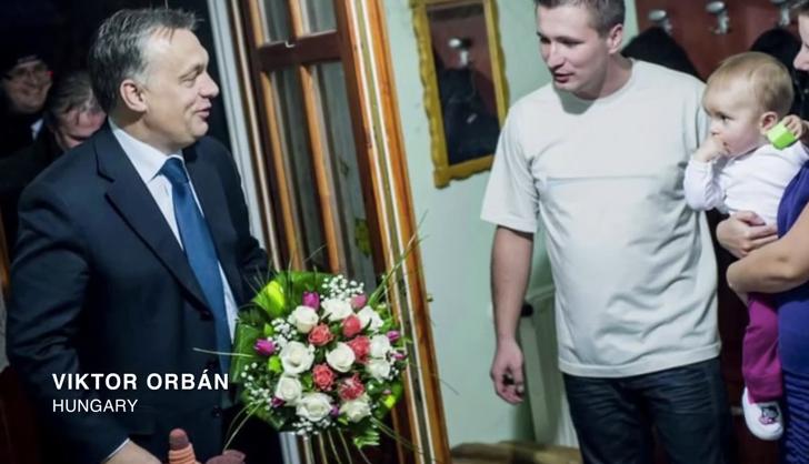 Orbán Viktor az egyik legnagyobb elnyomó