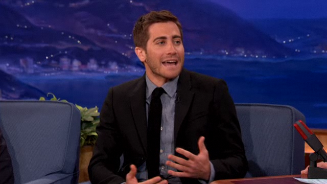 "Conan and Jake Gyllenhaal Discuss the ""Beard Community"""